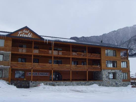 Tetnuldi hotel Mestia Georgia