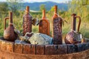 Wine production Georgia Caucasus грузинского вина