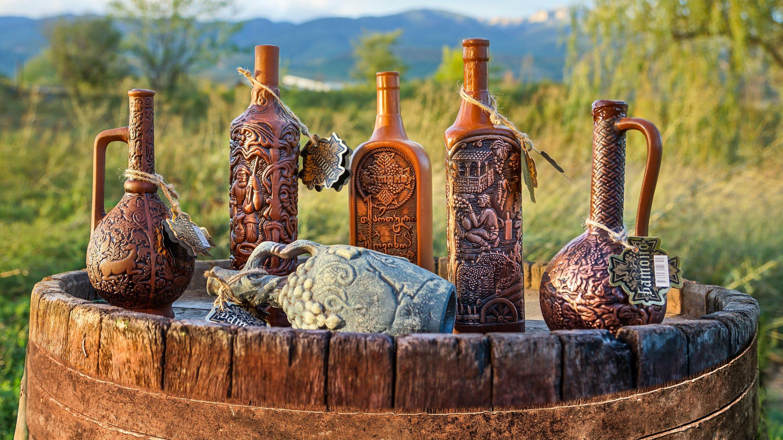 Wine production tour around Georgia