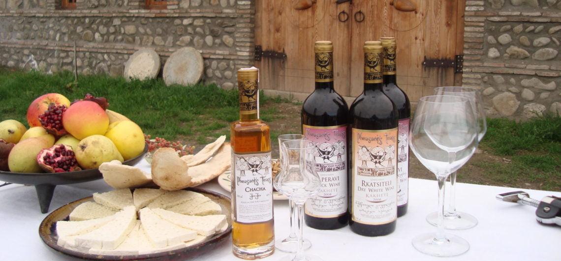 Amazing Georgian wine history