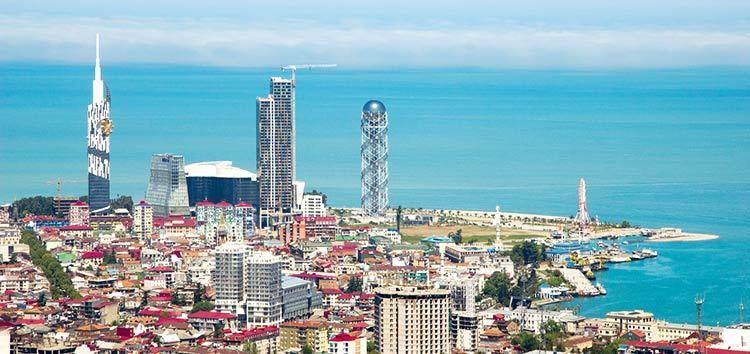 Batumi Ville romantique Géorgie