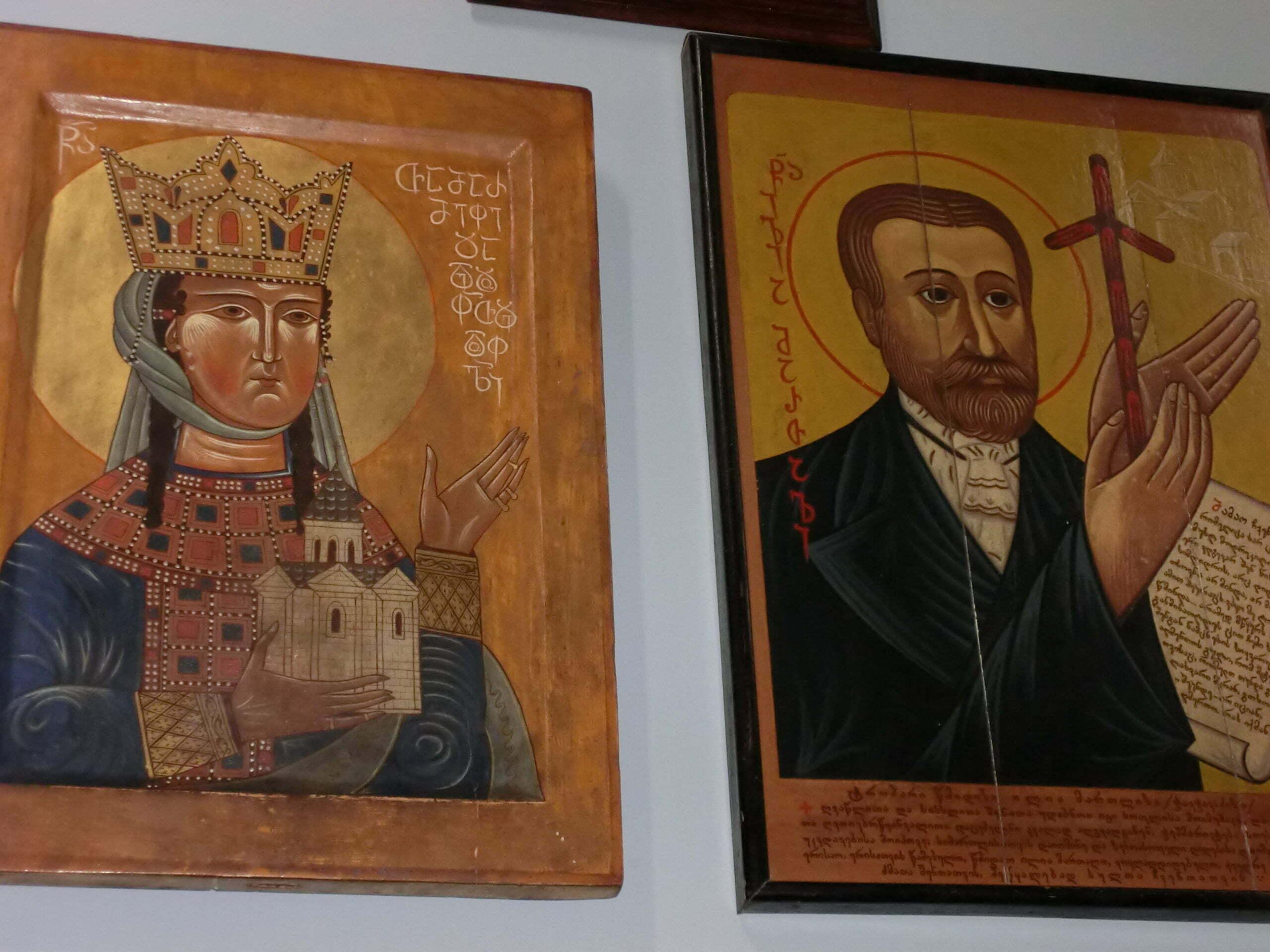 Fresques de Géorgie, Gravures