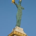 Medea statue in Batumi georgia